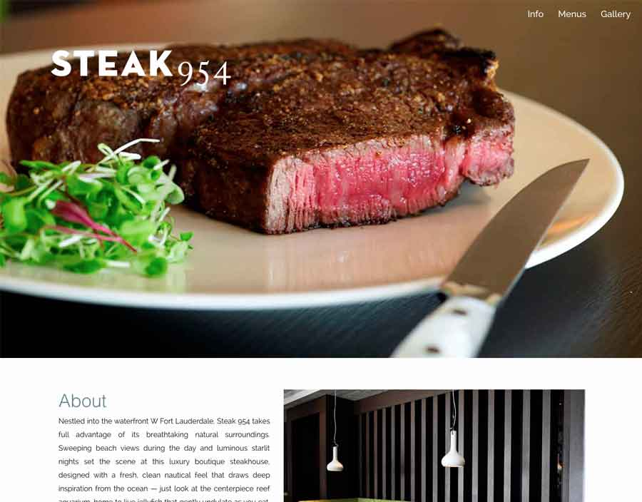 Steak 954 screenshot